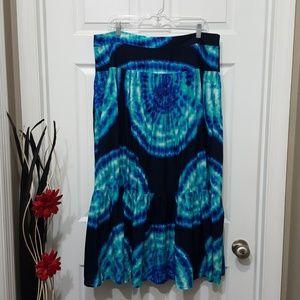 Jones New York Sport Boohoo Tye Dye Skirt 16